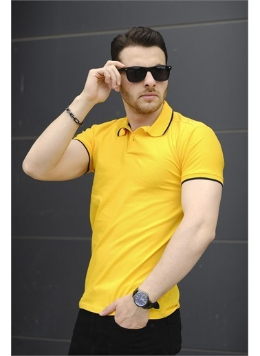 Oksit Tişört Sarı